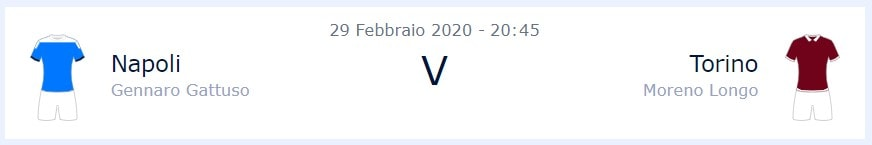 Napoli-Torino, info partita - William Hill News Italia