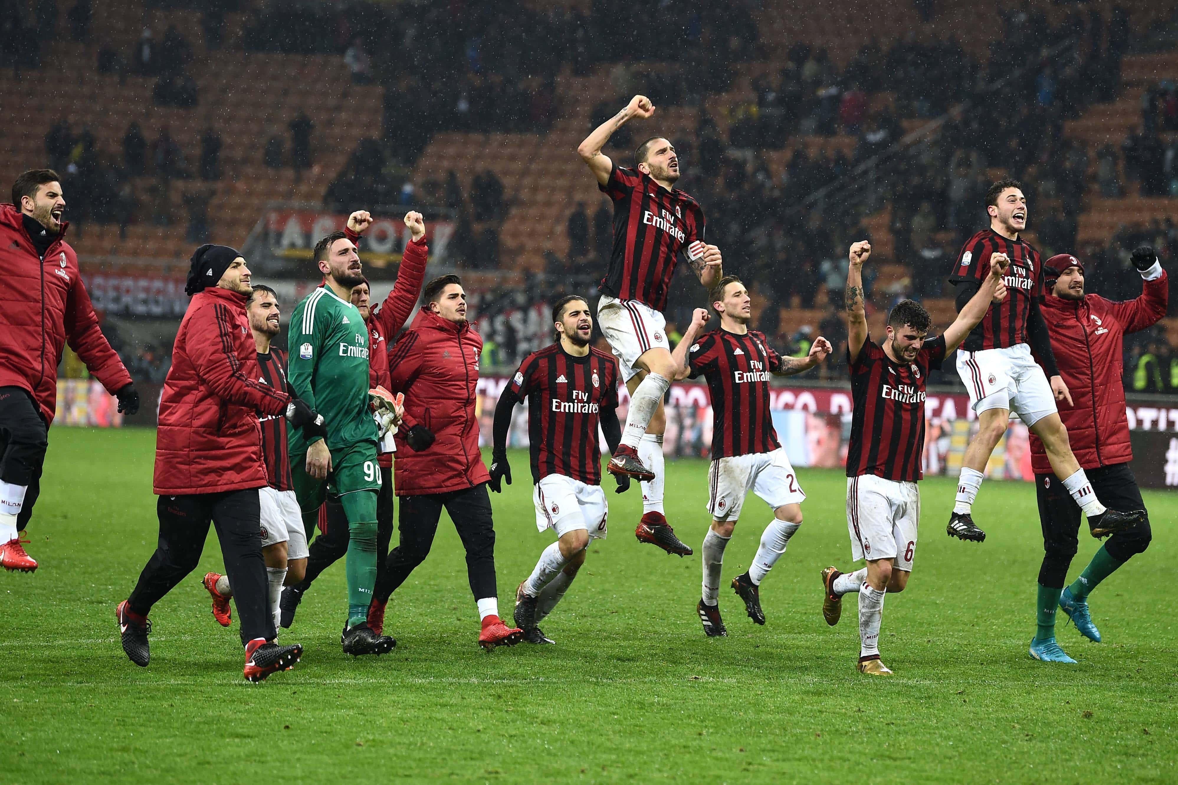 Il Milan in Coppa Italia: le vittorie e i protagonisti