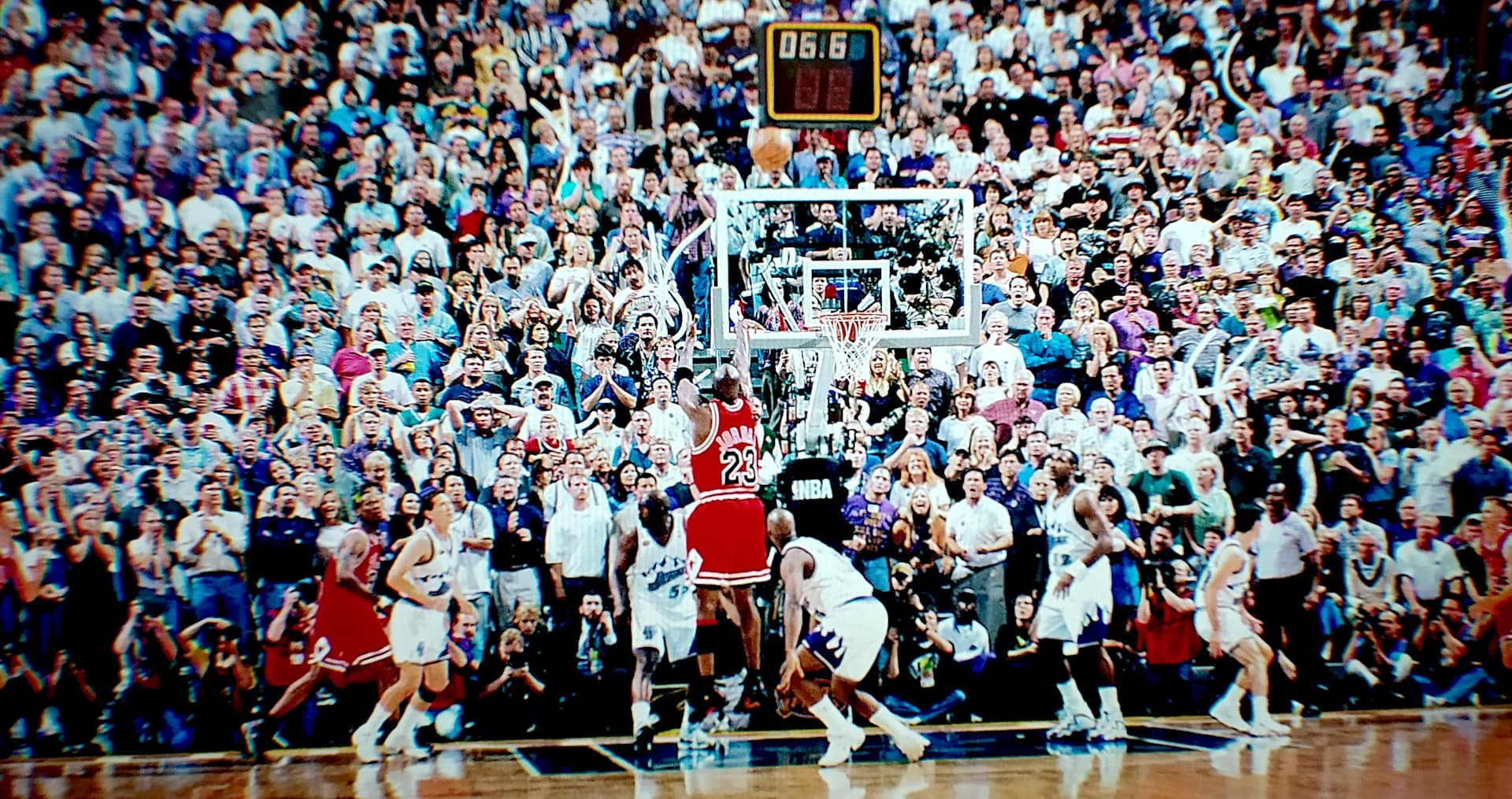 Michael Jordan The last shot Chicago Bulls